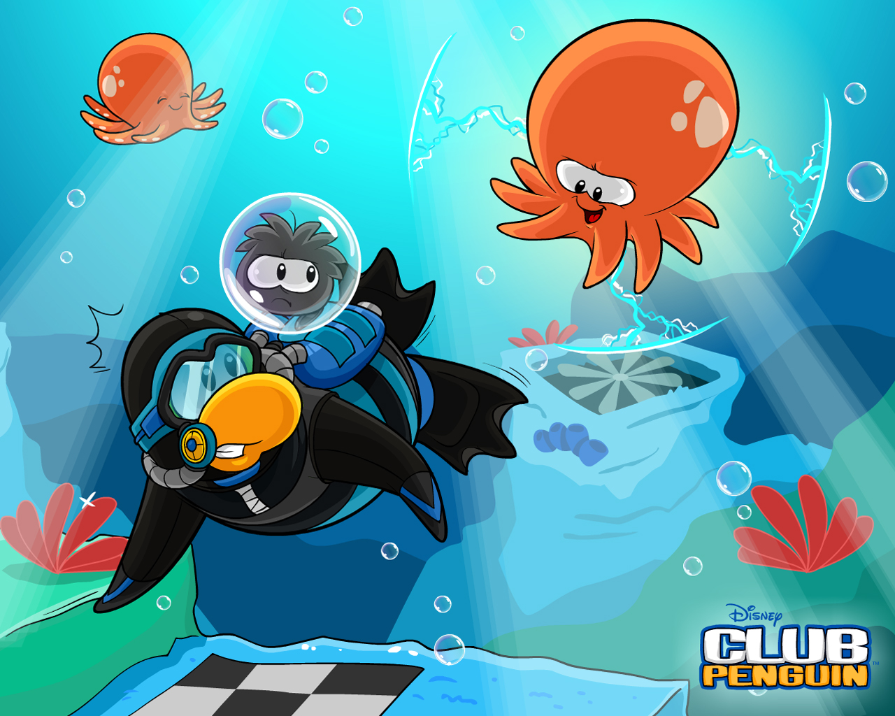 New Club Penguin Wallpaper